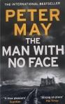Première de couverture du roman de Peter May : The man with no face
