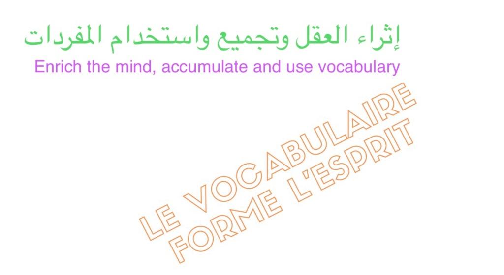 مفردات Vocabulary